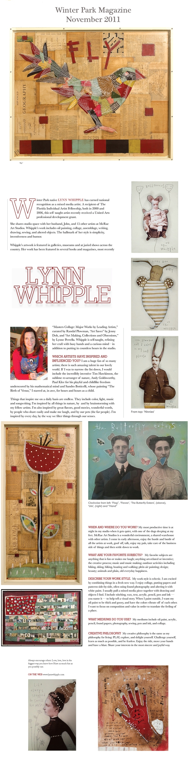 Winter Park Magazine Article November 2011