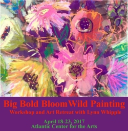 Big Bold Bloom Wild Painting Retreat!!